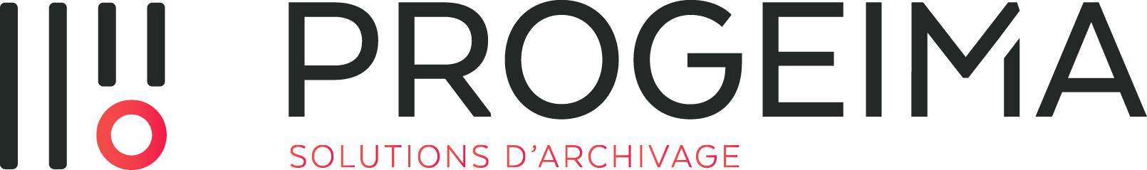 PROGEIMA des solutions sur mesure pour archiver durablement Logo